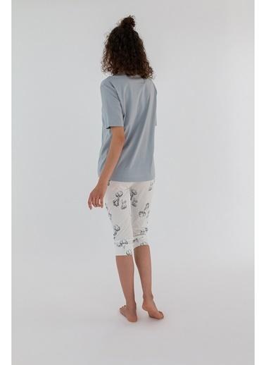 Hays Pijama Üst Beyaz